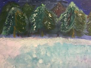 Winter trees - Mary-Kate's gallery