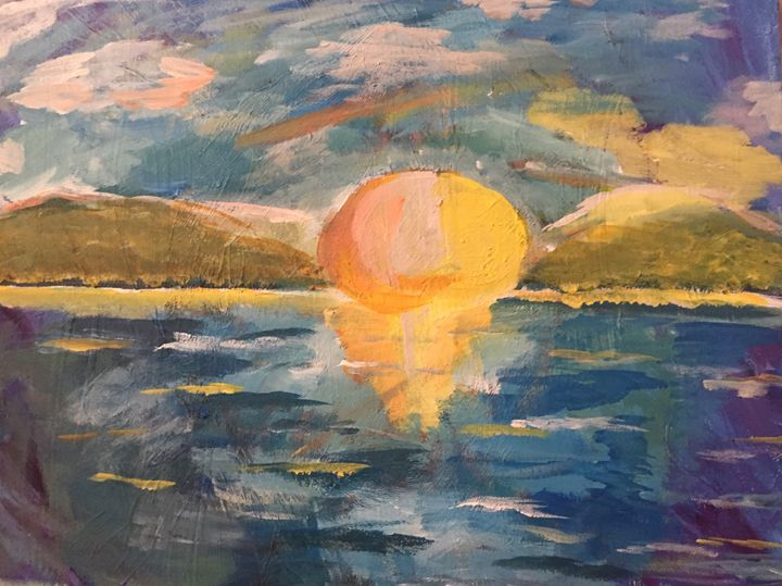 Sun Over Lake - Mary-Kate's gallery