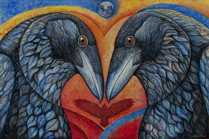 Love Birds - Nathan Perry Fine Art