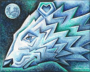 Polar Moon - Nathan Perry Fine Art