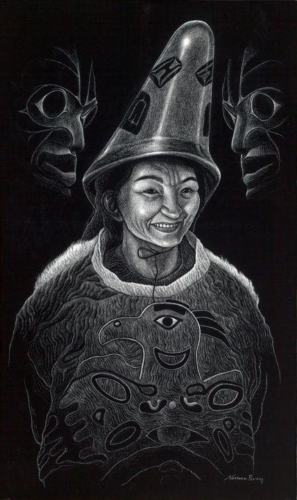 Smiling Alaskan - Nathan Perry Fine Art