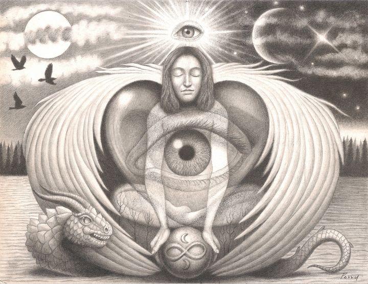 Angel Eye - Nathan Perry Fine Art