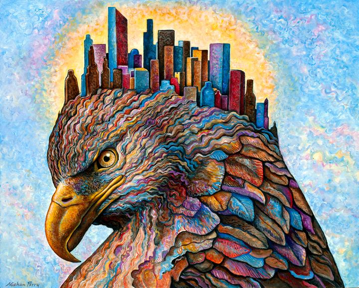 Skyscraper - Nathan Perry Fine Art