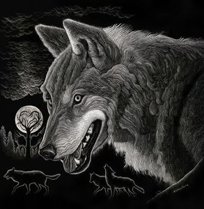 Winter Wolves - Nathan Perry Fine Art