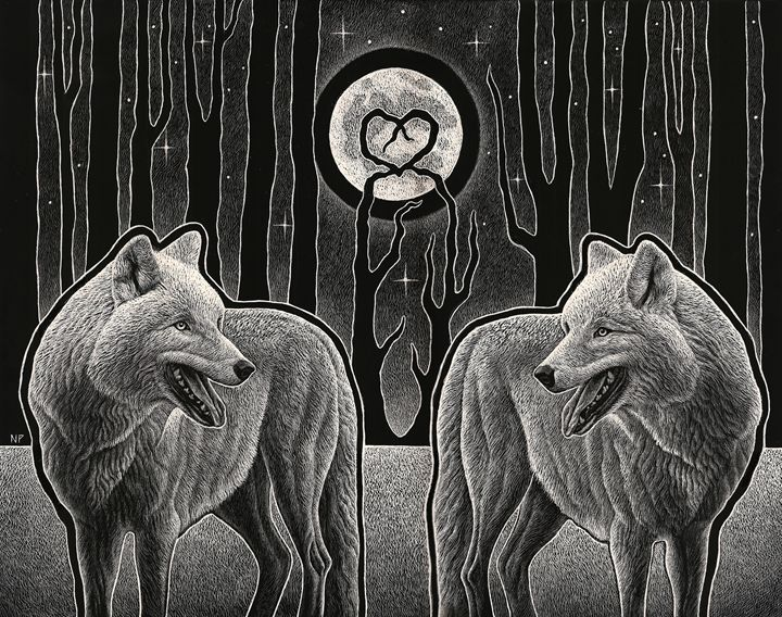 Lunar Admiration II - Nathan Perry Fine Art