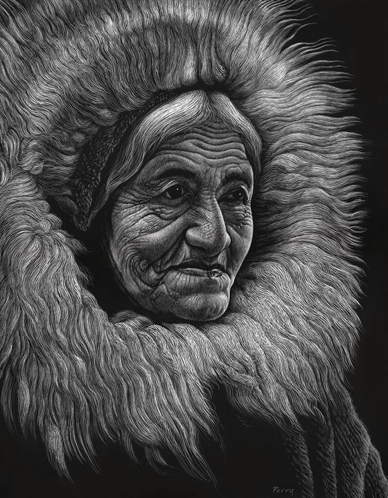 Alaska Wisdom I - Nathan Perry Fine Art