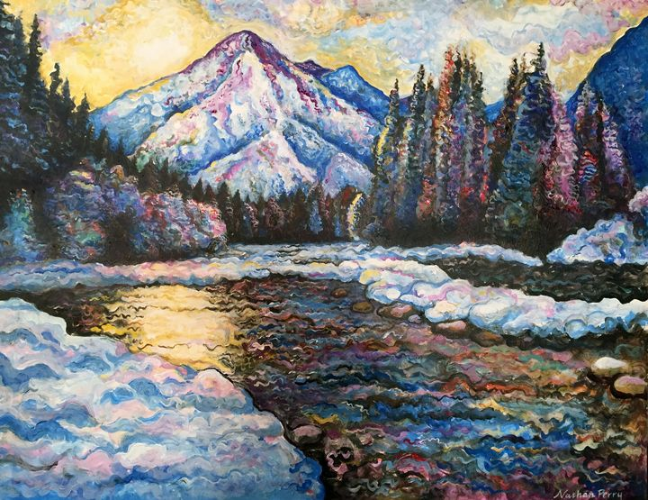 Winter Landscape - Nathan Perry Fine Art