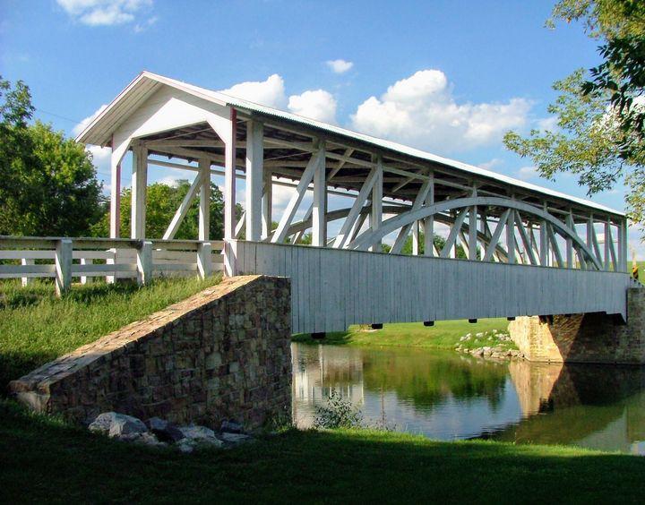 Halls Mill Covered Bridge - Digital Perfections