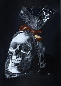Candy Skull No. 4