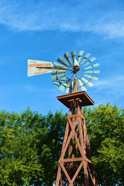 Vintage Windmill - Richard W. Jenkins Gallery