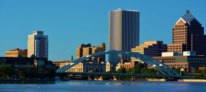 Rochester New York Skyline - Richard W. Jenkins Gallery