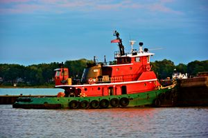 Colorful Tug Boat - Richard W. Jenkins Gallery