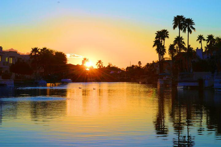 Lake Sunset - Richard W. Jenkins Gallery