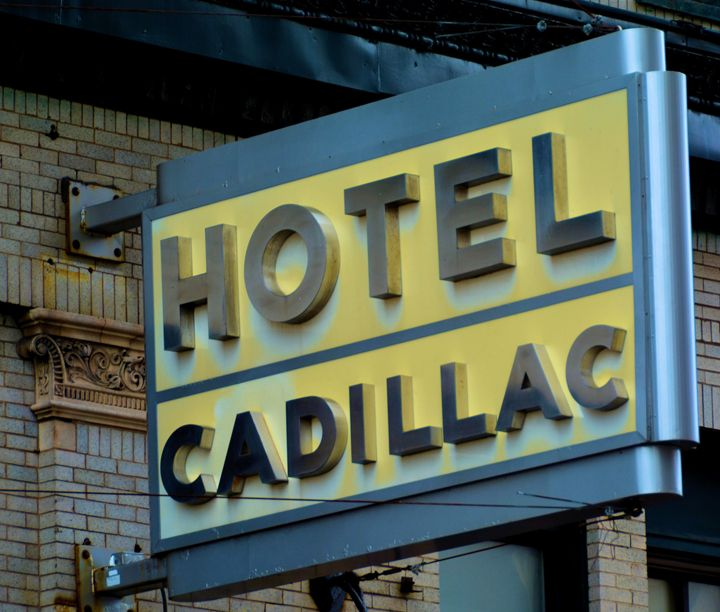 Art Deco Hotel Cadillac - Richard W. Jenkins Gallery