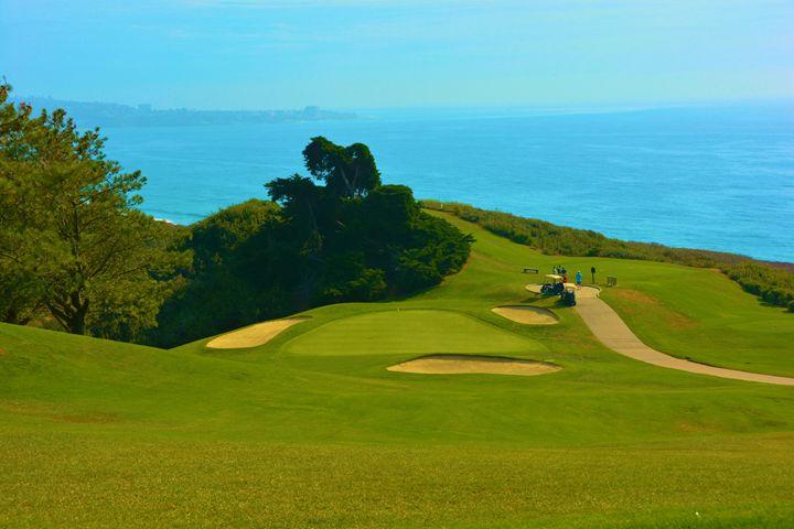 Torrey Golf and Ocean - Richard W. Jenkins Gallery