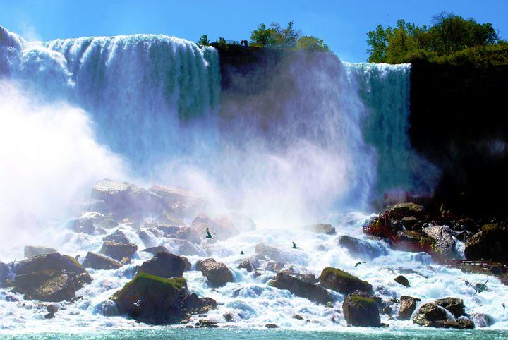Niagara Falls American side - Richard W. Jenkins Gallery