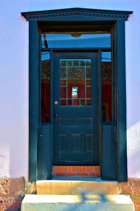 Spanish Blue Door - Richard W. Jenkins Gallery