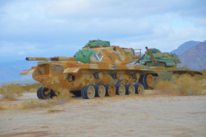 Patton Tanks - Richard W. Jenkins Gallery