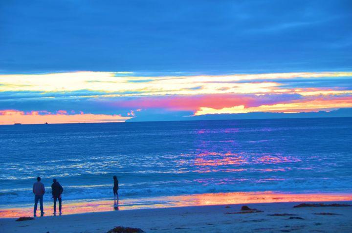 Crystal Beach Sunset - Richard W. Jenkins Gallery