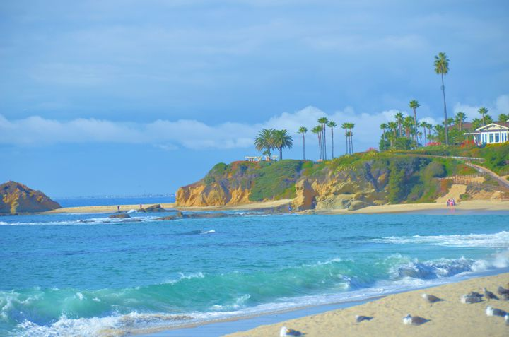 Aliso Beach California - Richard W. Jenkins Gallery