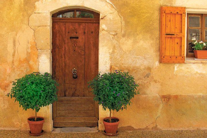 Adobe Door and Window - Richard W. Jenkins Gallery