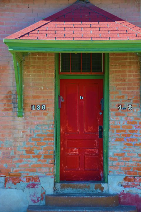 Red and Green Door - Richard W. Jenkins Gallery