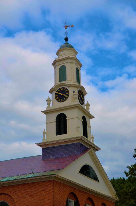 Church Clock Tower - Richard W. Jenkins Gallery