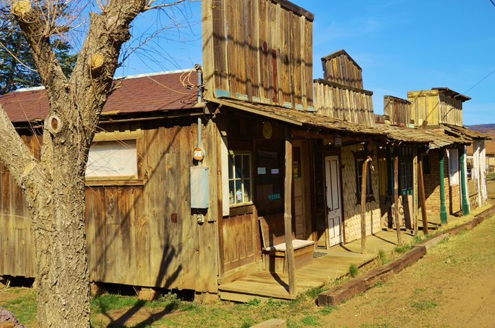 Old West Store FRonts - Richard W. Jenkins Gallery