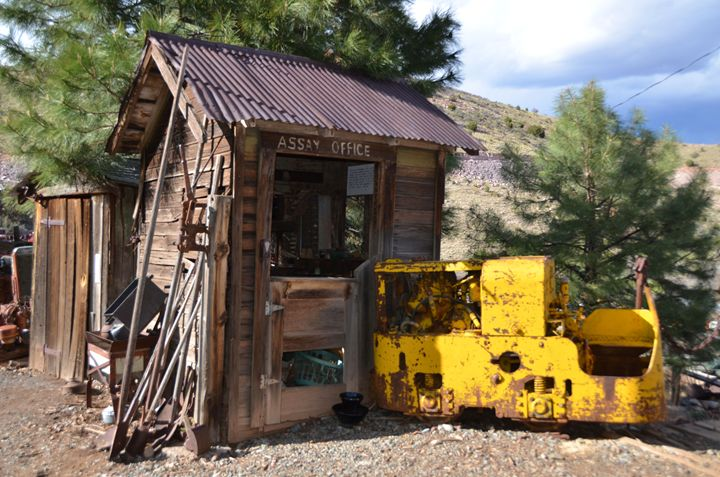 Old Gold Assay Shack - Richard W. Jenkins Gallery