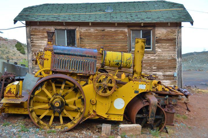 Old Steamroller - Richard W. Jenkins Gallery