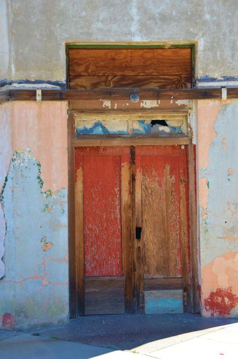 Colorful Door in Miami - Richard W. Jenkins Gallery