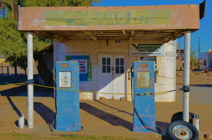 Old Gas Pumps - Richard W. Jenkins Gallery