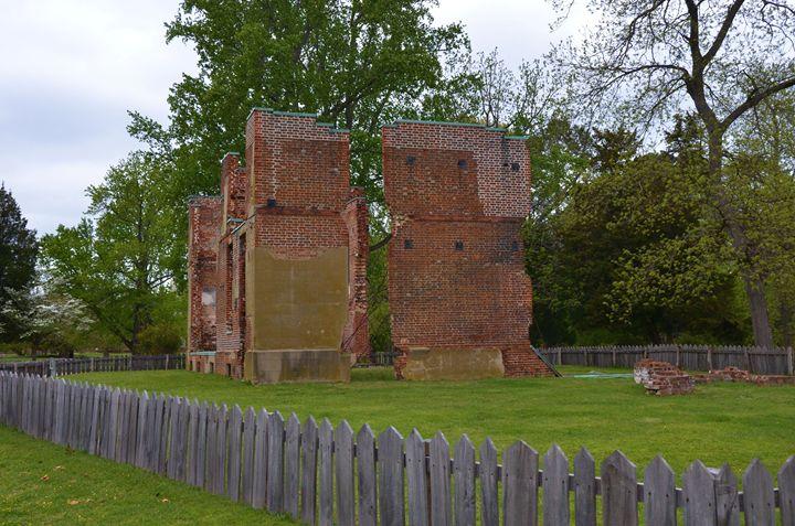 Jamestown ruins - Richard W. Jenkins Gallery