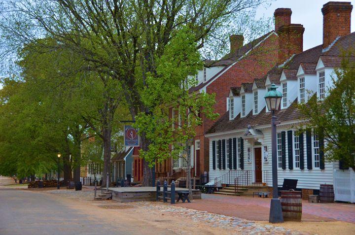 Main Street Williamsburg - Richard W. Jenkins Gallery