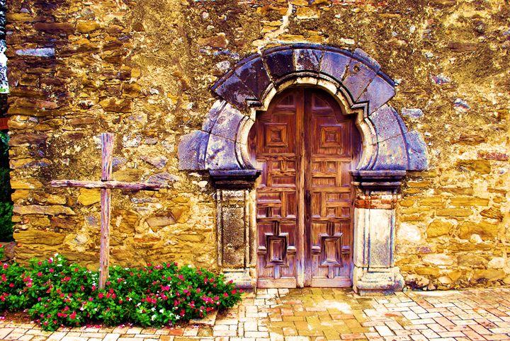 Mission Door - Richard W. Jenkins Gallery