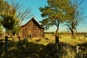 An old barn in the Mountains - Richard W. Jenkins Gallery