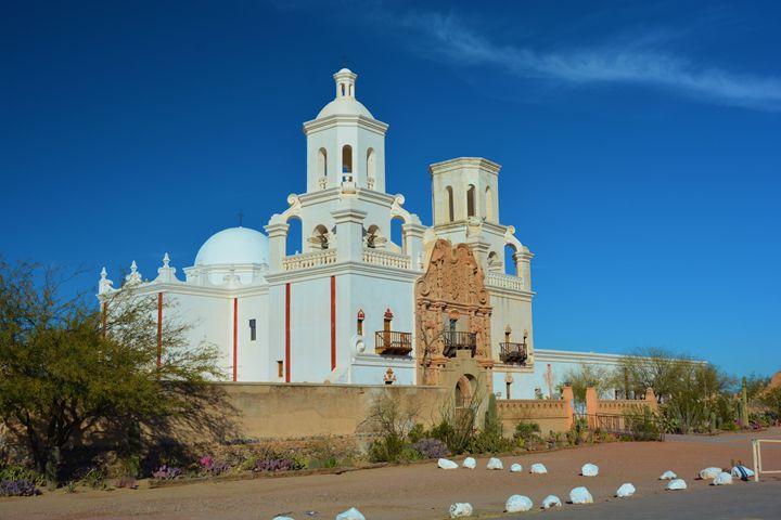 Mission San Savier Del Bac - Richard W. Jenkins Gallery