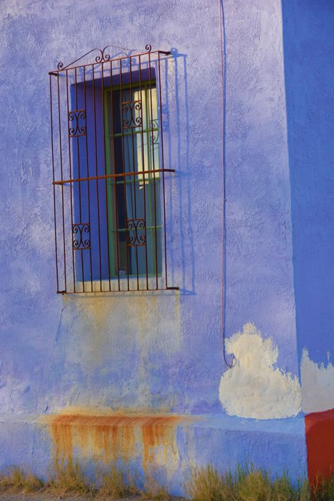 Purple Adobe Wall - Richard W. Jenkins Gallery