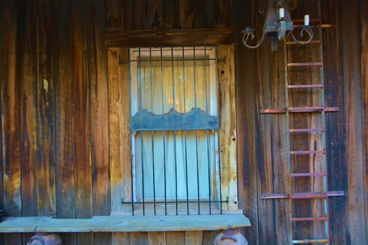 Old Window and ladder - Richard W. Jenkins Gallery