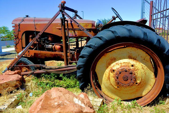Vintage Tractor - Richard W. Jenkins Gallery