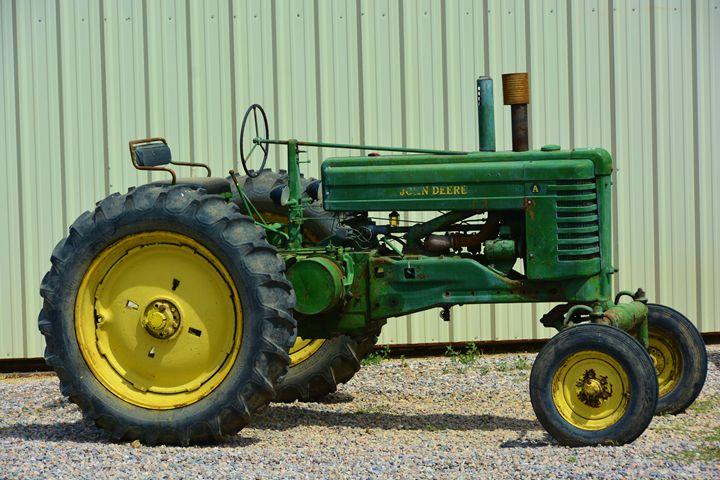 John Deer Tractor - Richard W. Jenkins Gallery