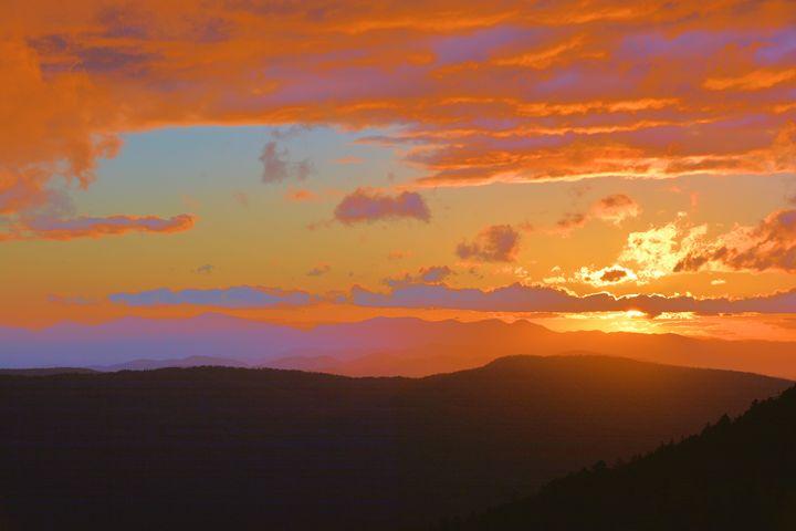 Mountain Sunset - Richard W. Jenkins Gallery
