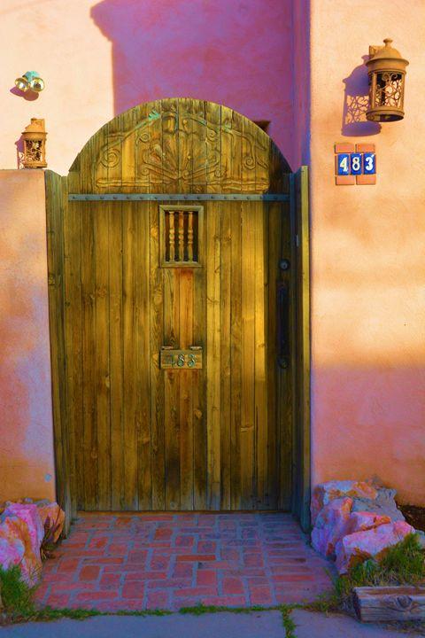 Wooden Gate Adobe - Richard W. Jenkins Gallery