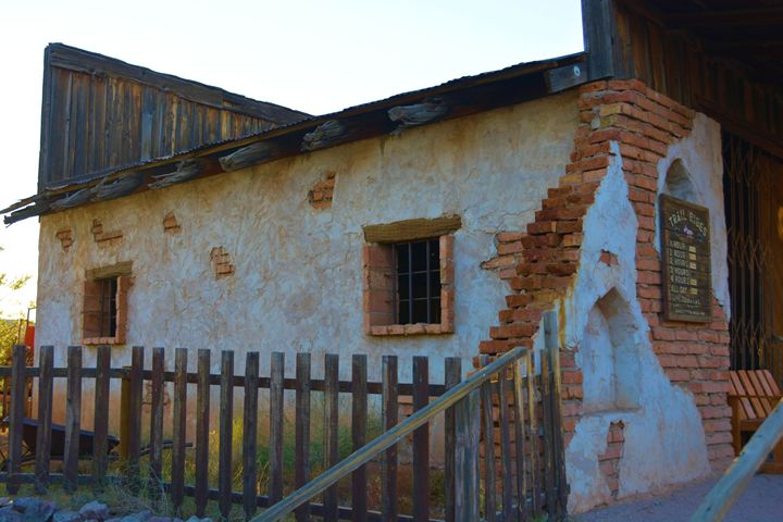 Historic Adobe structure - Richard W. Jenkins Gallery