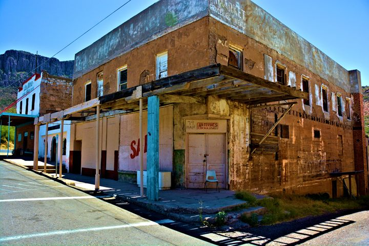 Adandoned Main Street - Richard W. Jenkins Gallery