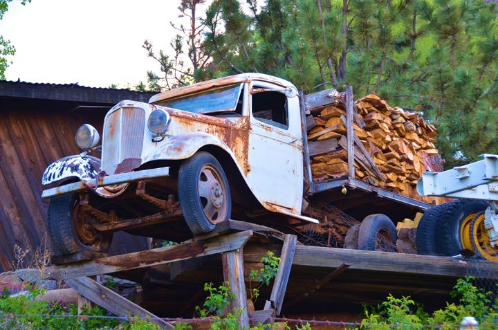 Old Lumber Truck - Richard W. Jenkins Gallery