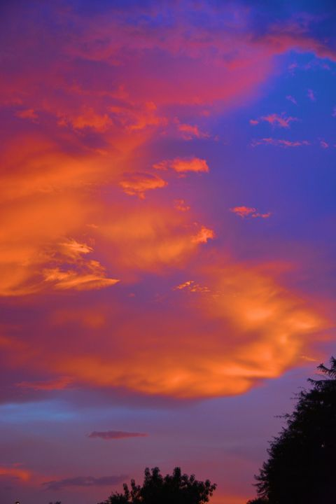 Monsoon Sunset - Richard W. Jenkins Gallery