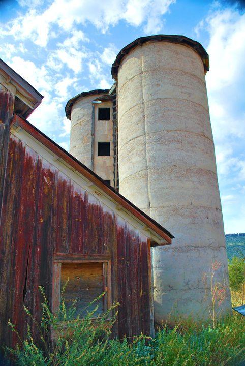 Old Barn and Silo - Richard W. Jenkins Gallery