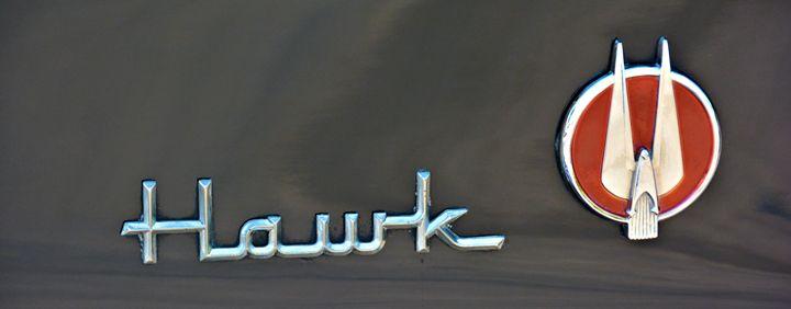 Hawk auto Emblem - Richard W. Jenkins Gallery
