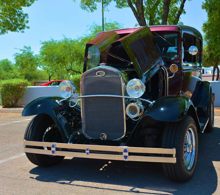 Vintage Ford Roadster - Richard W. Jenkins Gallery